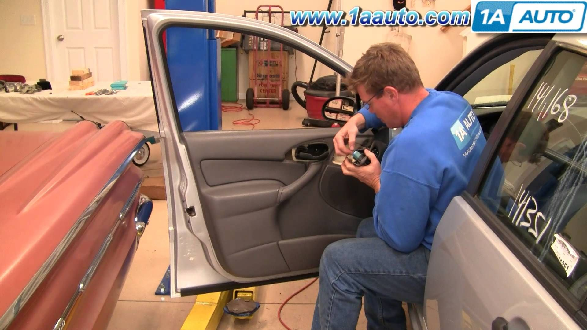 Cool How To Install Replace Outside Door Handle Ford Focus 00 07