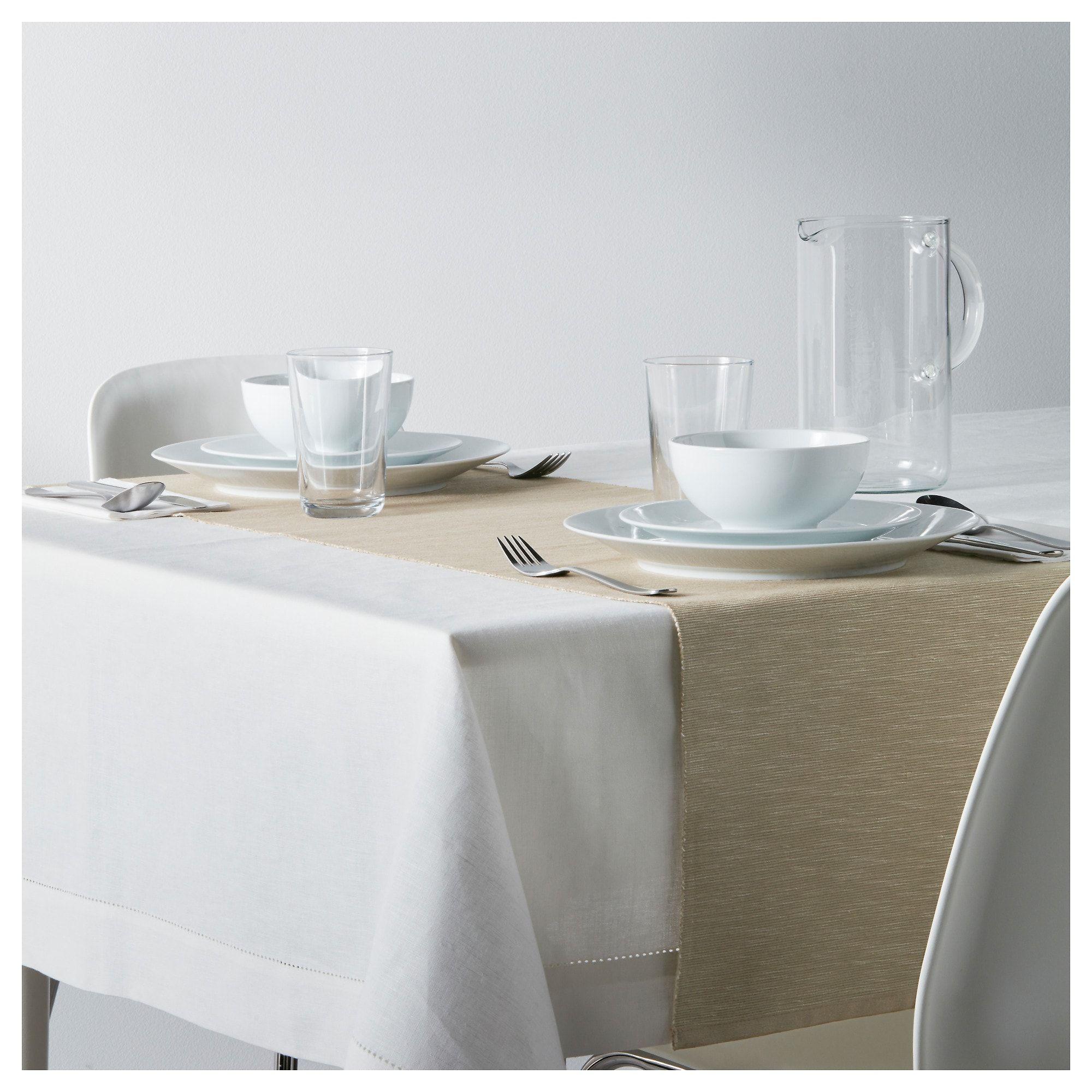 Marit Tischlaufer Beige Tischlaufer Grun Ikea Tisch Und Tisch