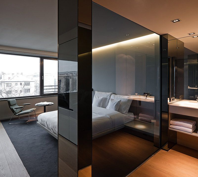 Hotel sana elegancia y sobriedad en el nuevo trabajo de for Interiores minimalistas