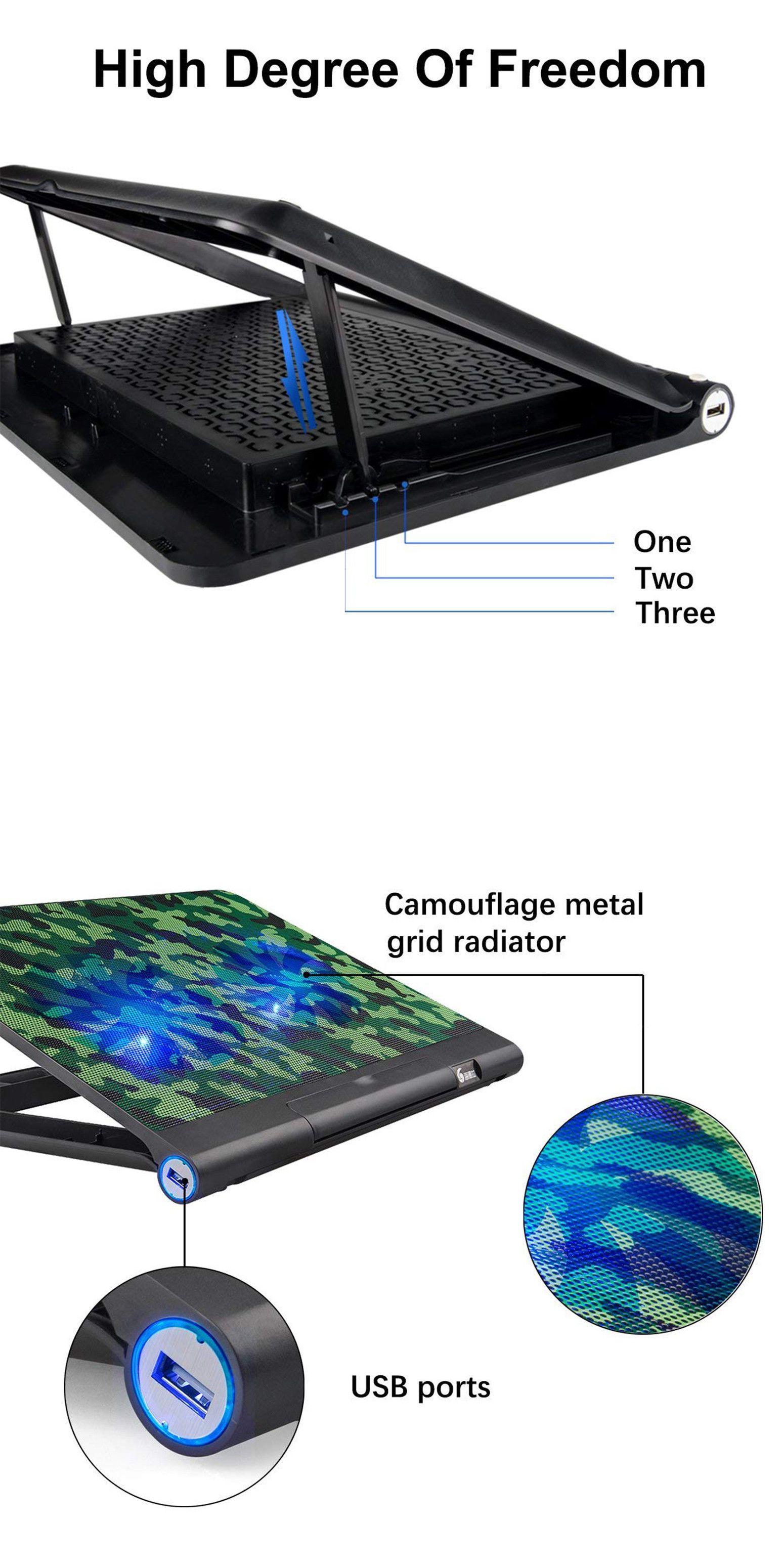 Laptop Cooling Pads 96915: Laptop Cooling Mat Portable Notebook Air