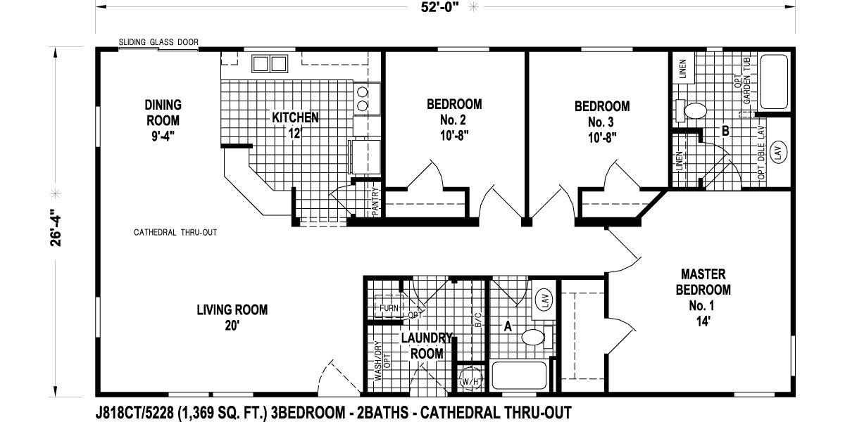 Skyline Mobile Home Floor Plans Background