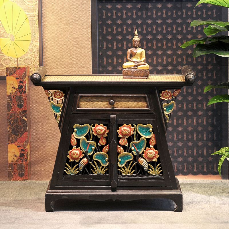 Pas cher Southeast Asian style furniture bedroom cabinet storage ...
