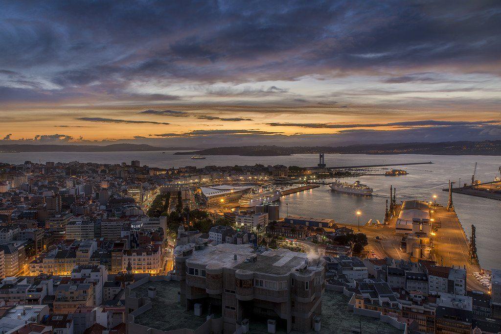 A Coruña - amanecer