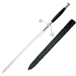 Silver Claymore Sword - ZS-901070-SL by Medieval Collectibles - for scott