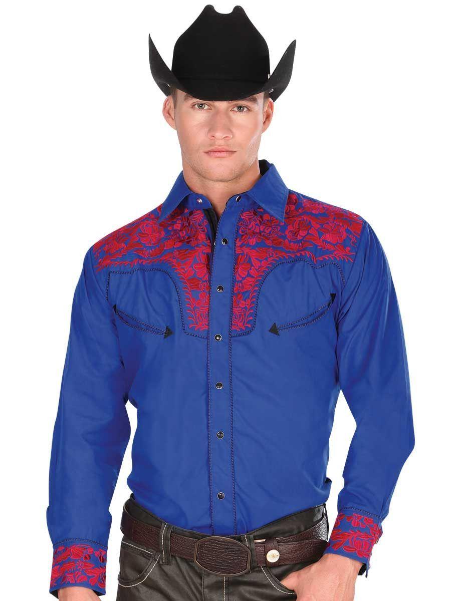 3c89f59463 Camisa Vaquera Manga Larga para Hombre