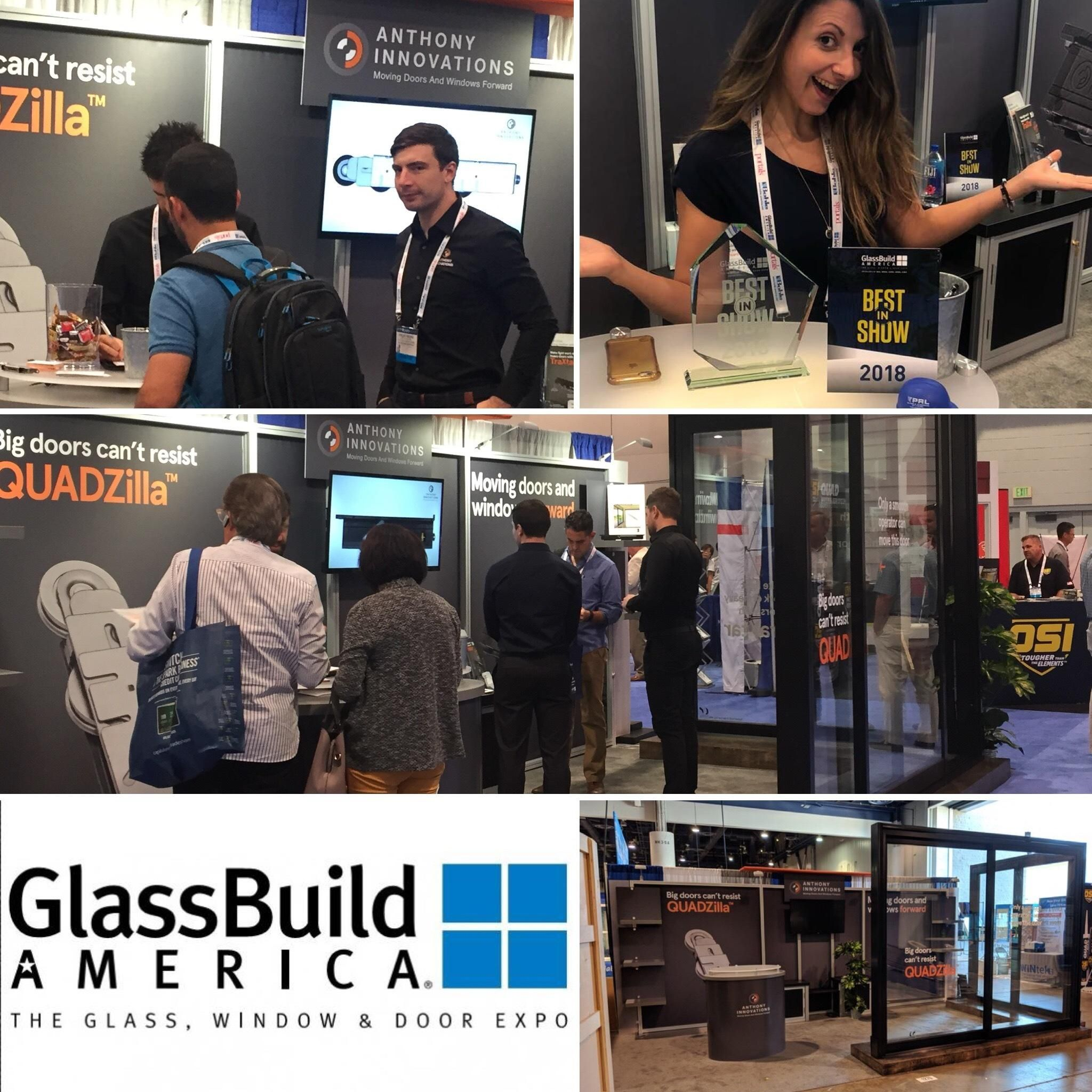 Panda Windows And Doors At This Year S Glbuild America Show Anthony Innovations Won Best In For First Time