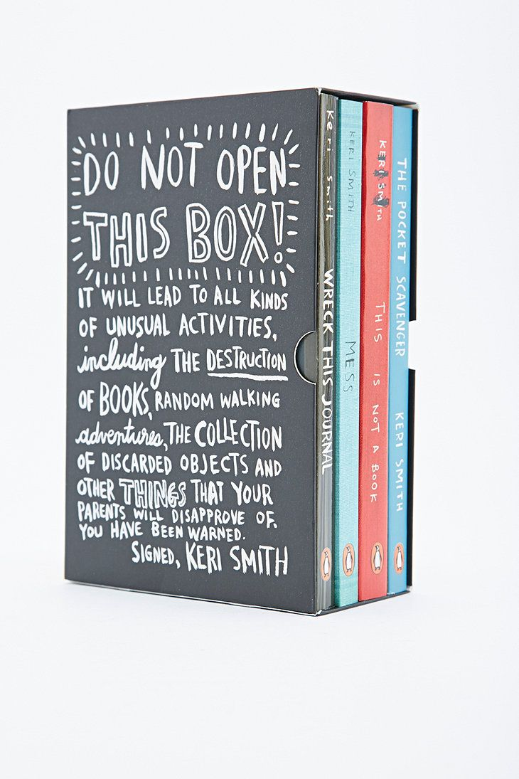 Do Not Open This Box Book Set