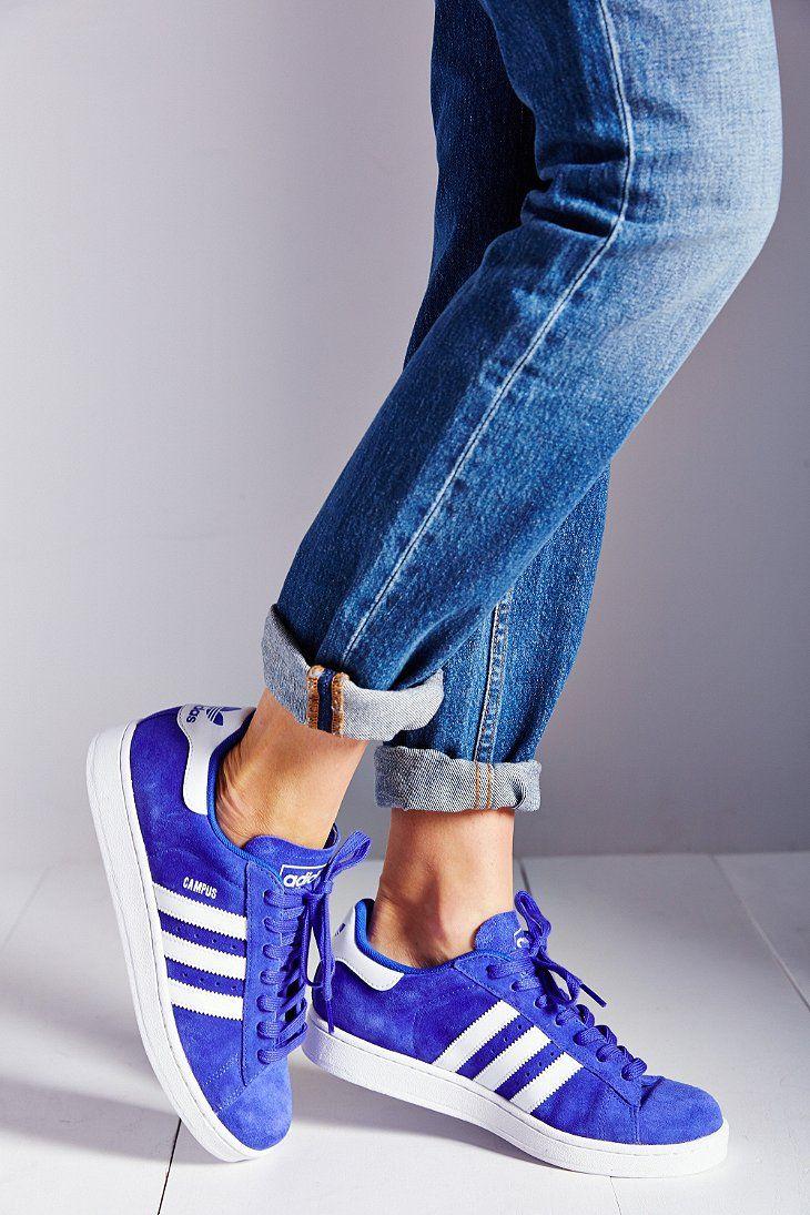 adidas campus blue womens
