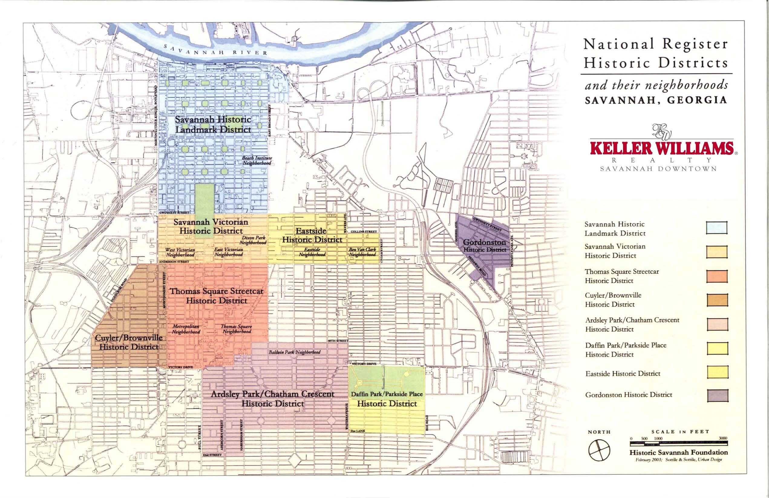 national register historic districts and their neighborhoods