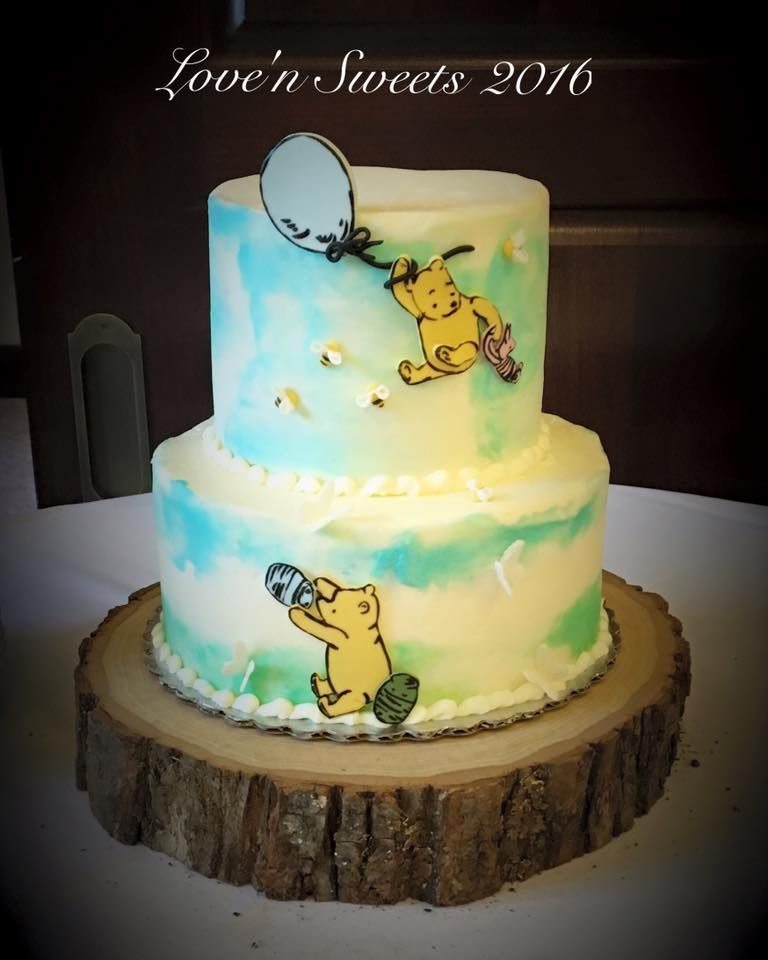 Classic Winnie The Pooh Cake / Baby Shower / Love'n Sweets