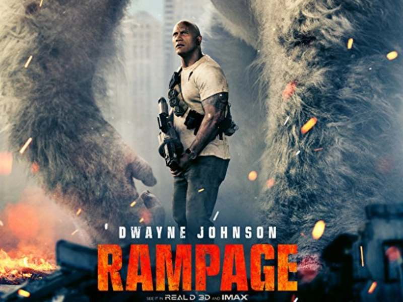 The Rampage Movie Trailer Has Landed And It Looks A Blast With