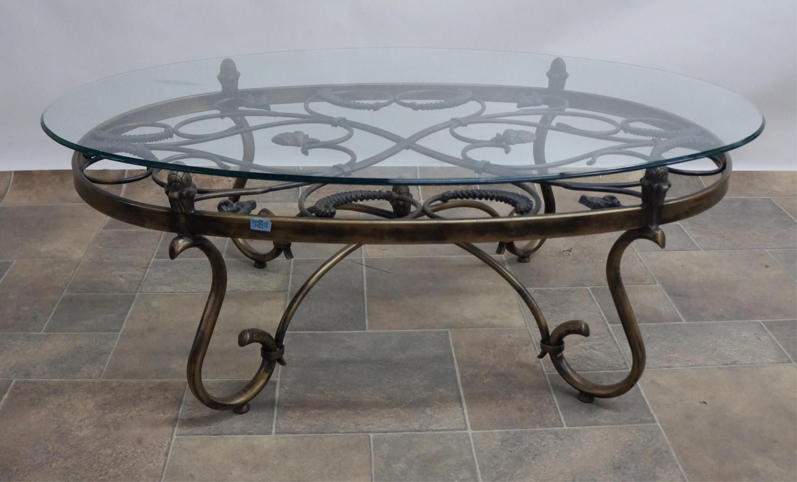 Superior Iron · Wrought Iron Coffee Table ...