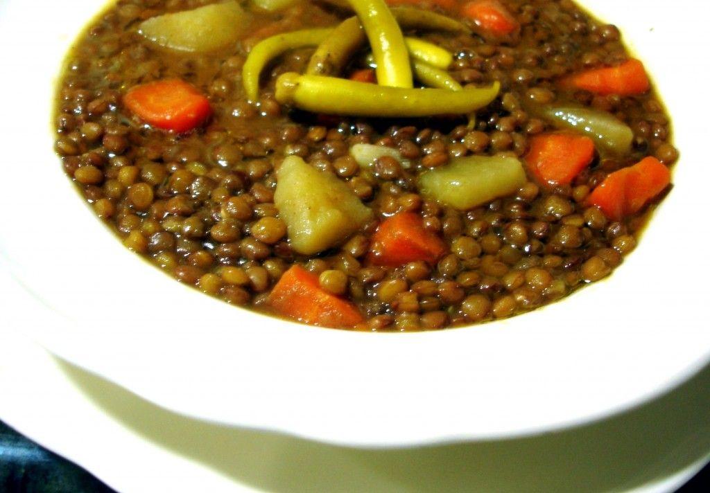 La receta de lentejas con verduras o a la hortelana es for Formas de cocinar lentejas
