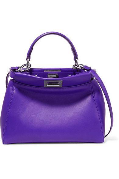 099ff1fab22c ... usa fendi peekaboo small leather shoulder bag. fendi bags shoulder bags  hand bags leather e1d68