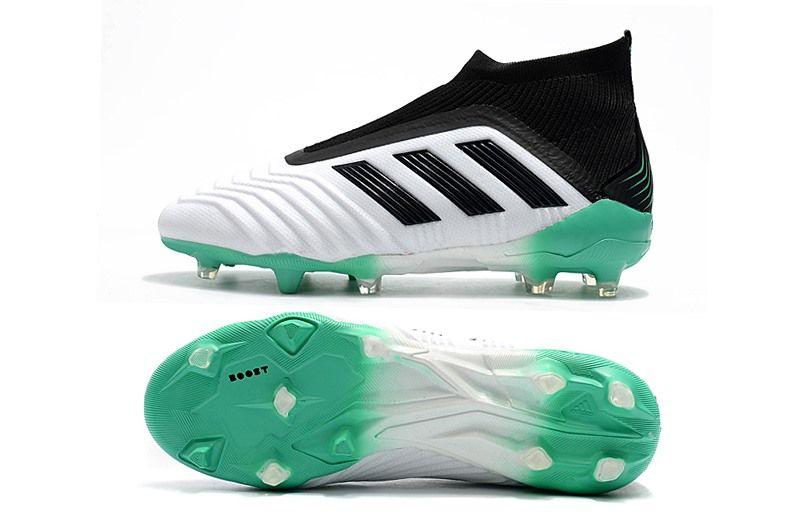 free shipping 8ef36 a393d Adidas Predator 18+ FG Zapatillas de Fútbol - Blanco Verde Negro