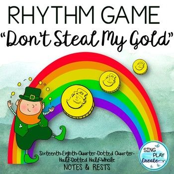 Music Rhythm Game Don T Steal My Gold Note And Rest