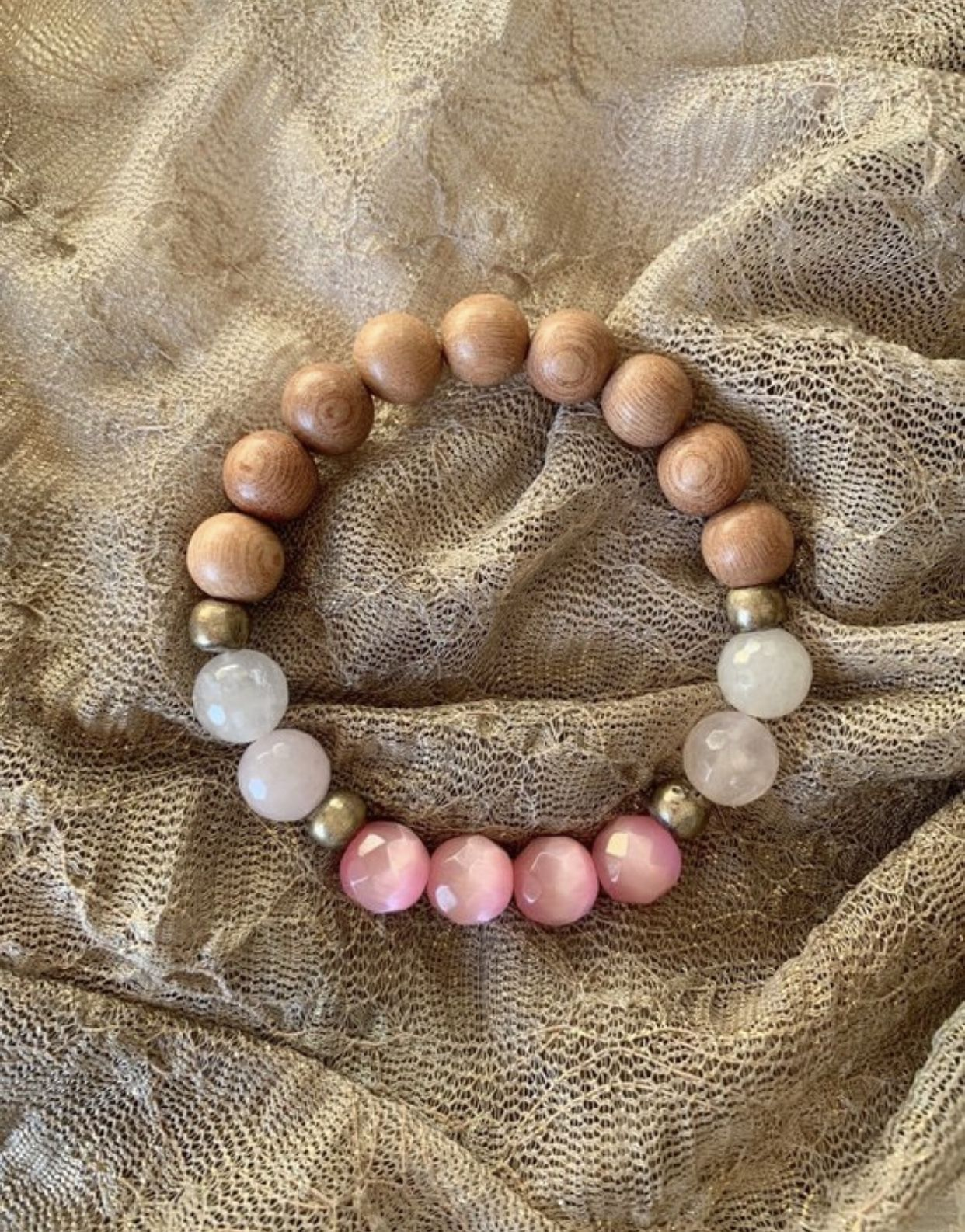 Just add Essential Oil to the wood beads and enjoy the