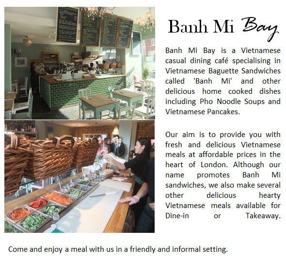 Vietnamese Baguettes Pho Cafe Home Cheap Eats London Pho Cafe Banh Mi