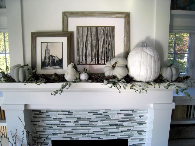 Fall Mantle Thelilypadcottage Fall Mantle Home Home Decor