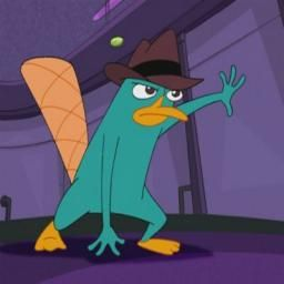 Because He S Awesome Perry The Platypus Phineas And Ferb Platypus