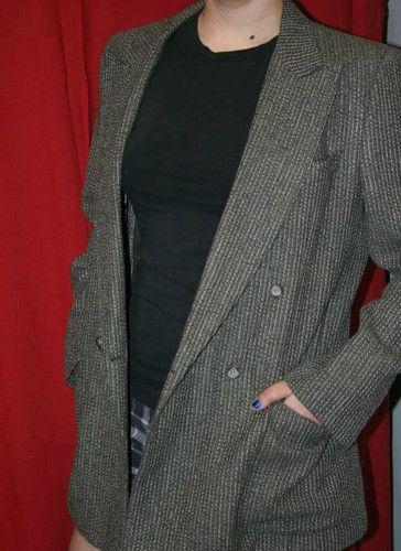Ermenegildo Zegna Vintage Italian Blazer Wool Alpaca Marcello Tarantino | eBay