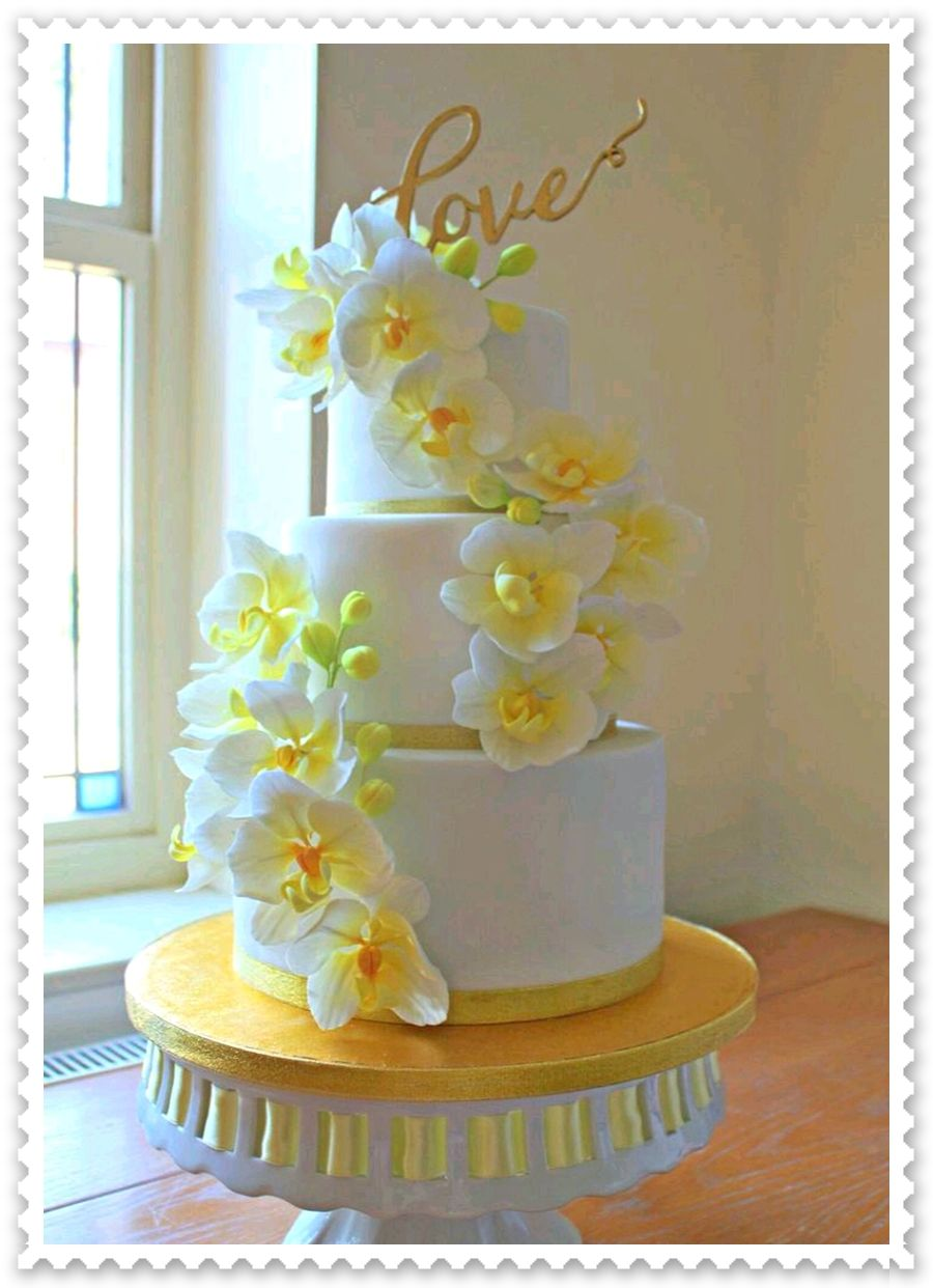 Vintage wedding decorations ideas november 2018 BODA AMARILLA  TORTAS DECORADAS  Tartas en fondant in