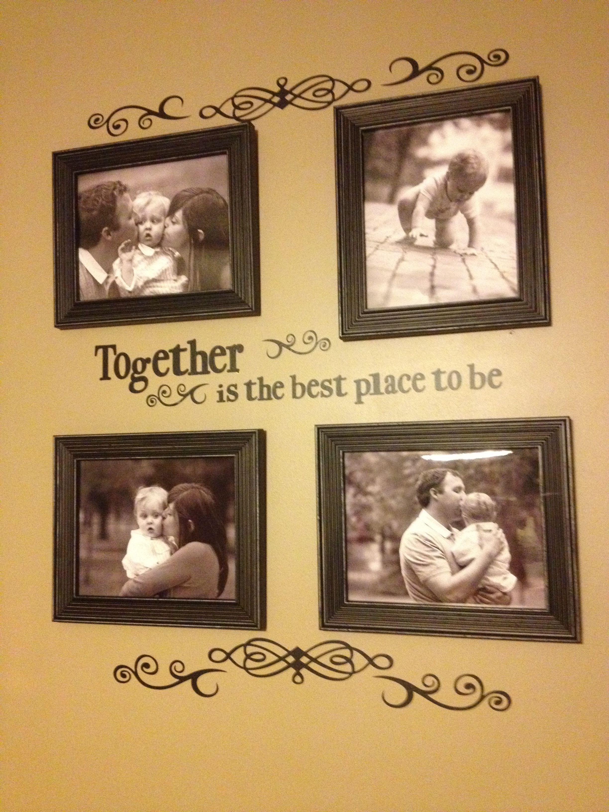 Family vinyl wall art | Idea\'s for the HOME | Pinterest | Vinyl wall ...