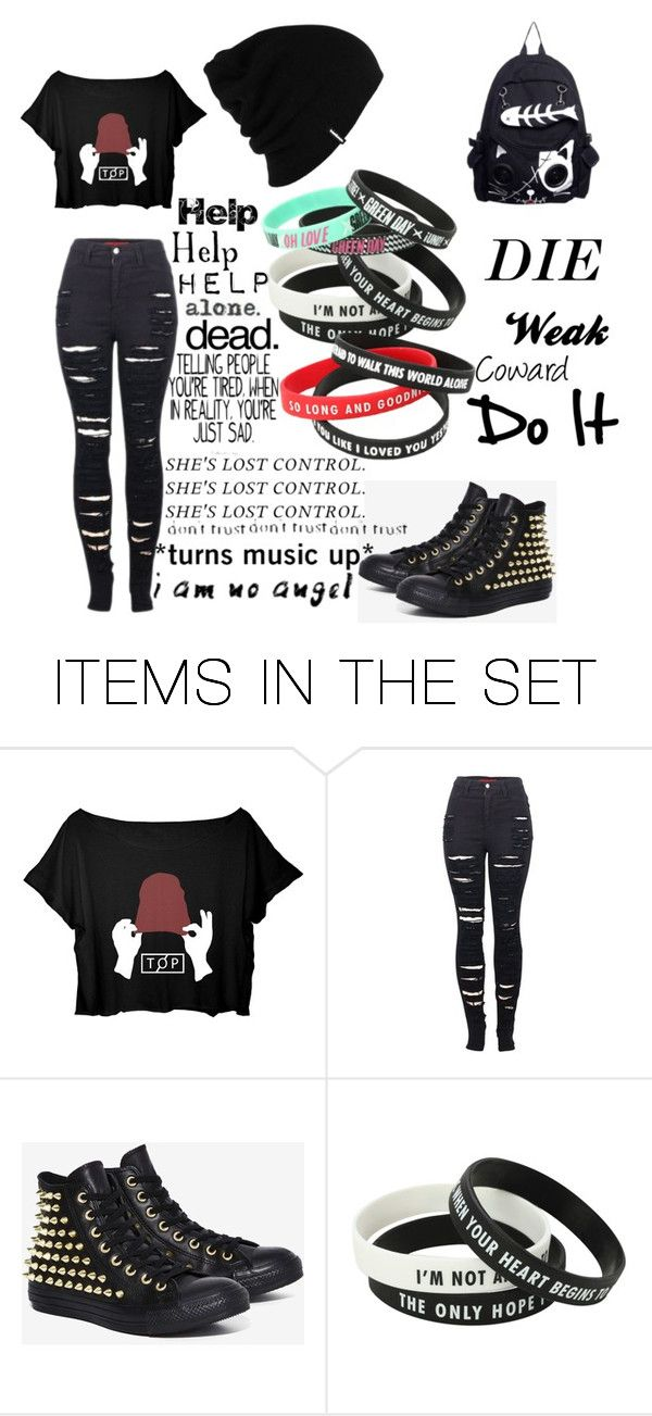 """Untitled #7"" by satanicemokitten on Polyvore featuring art"
