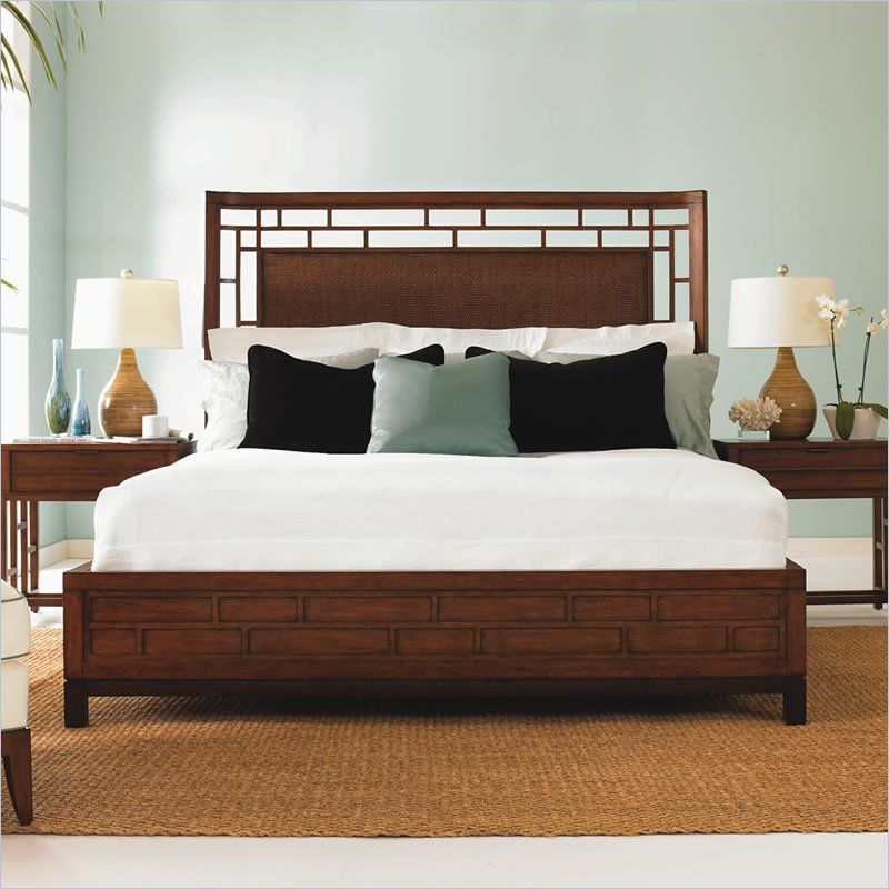 Tommy Bahama Home Ocean Club Paradise Point California King Bed Bedroom Sets Lexington Home