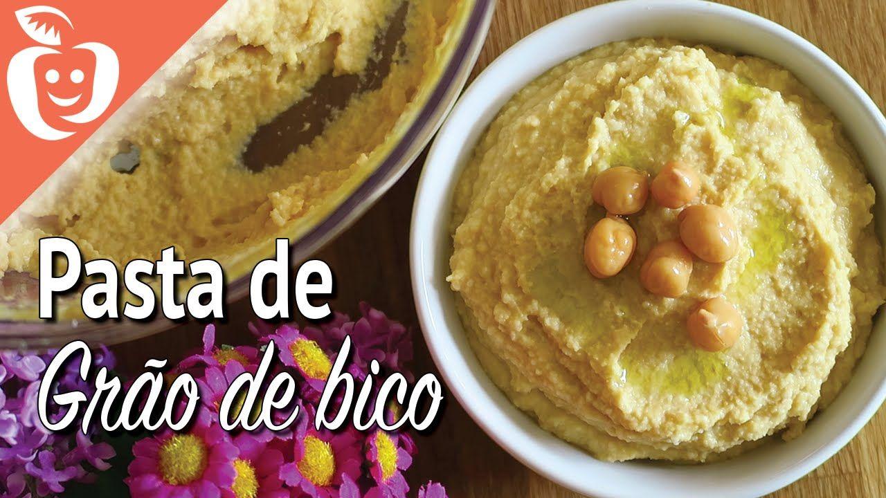 Pasta de grão de bico (ou hummus)
