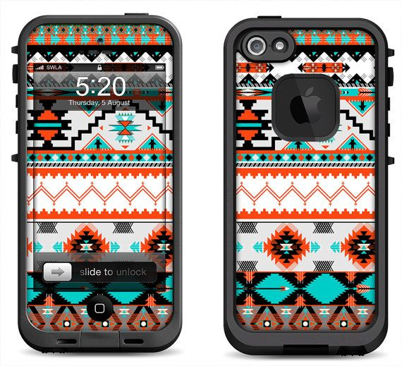 buy online 0c728 bdcee Lifeproof iPhone 5 Case Decal Skin Cover - Native Pattern ...