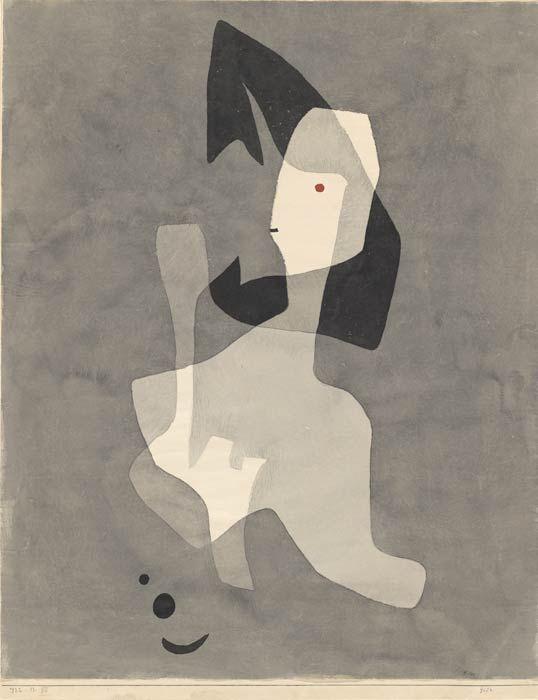 Paul Klee, Gift, 1932, 13, Aquarell und Bleistift auf Papier auf Karton, 61,3 x 48,6 cm, Zentrum Paul Klee, Bern, VBK, Wien, 2008