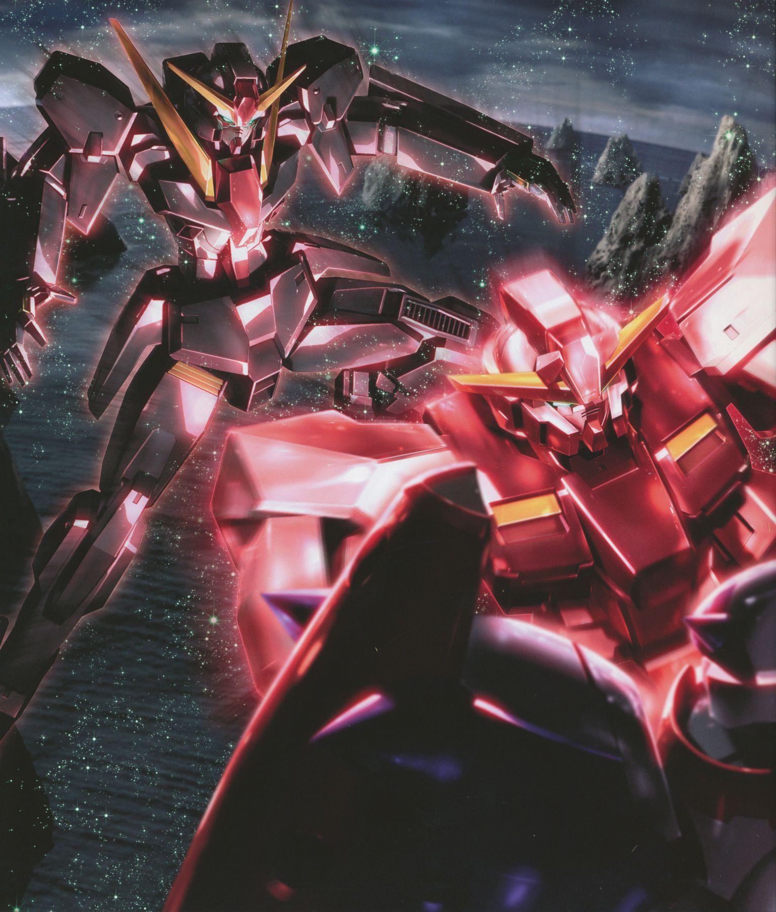 Seravee Gundam Seraphim Gundam Gundam Gundam Wallpapers Gundam Art
