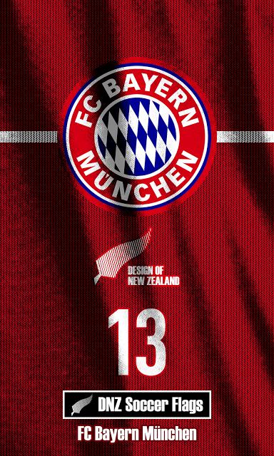 DNZ Soccer Flags Wallpapers FC Bayern Munchen