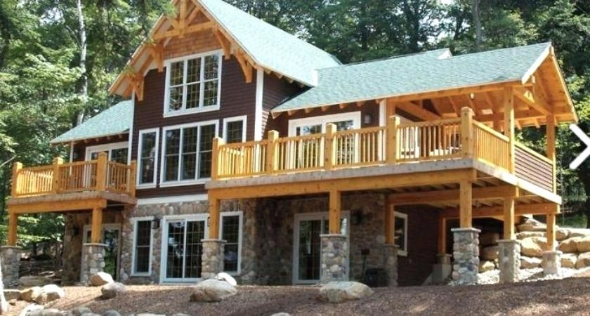Image Result For Timber Frame Homes With Walkout Basement New House Plans Timber Frame Homes Cottage Design