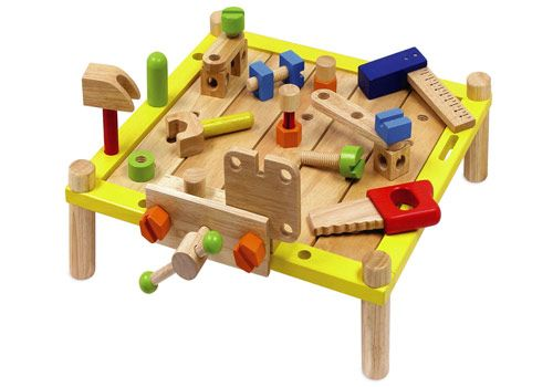 Wooden Toy Workbench Wooden Baby Toys Educational Baby