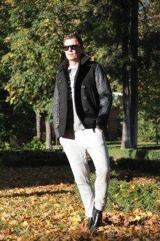 Legere Jogger Pants mal ganz entspannt draußen tragen