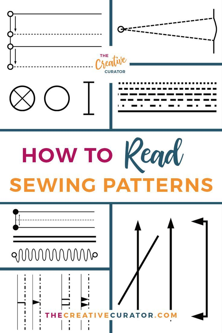 How To Read Sewing Patterns: The Ultimate Guide #beginnersewingprojects