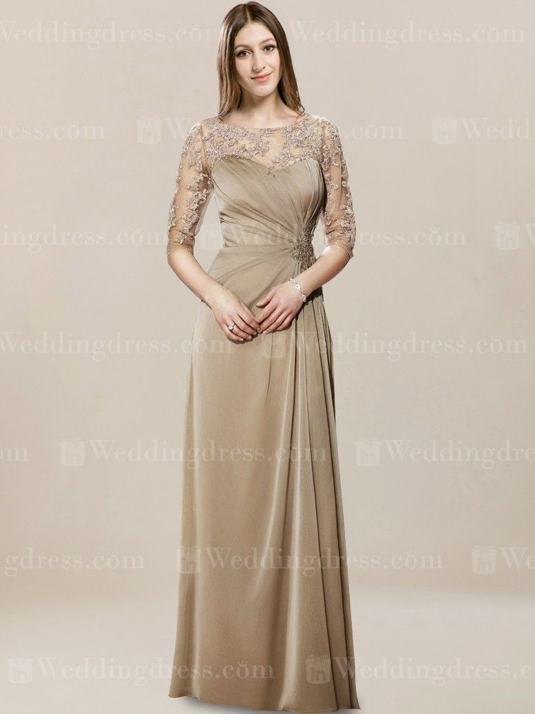 Long Mother of the Groom Dress MO347 | Mutter des Bräutigams ...