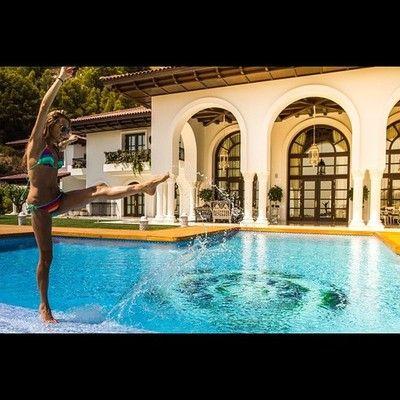 Summer fun in Spain. #altea #spain #villa #vip #water by joullie