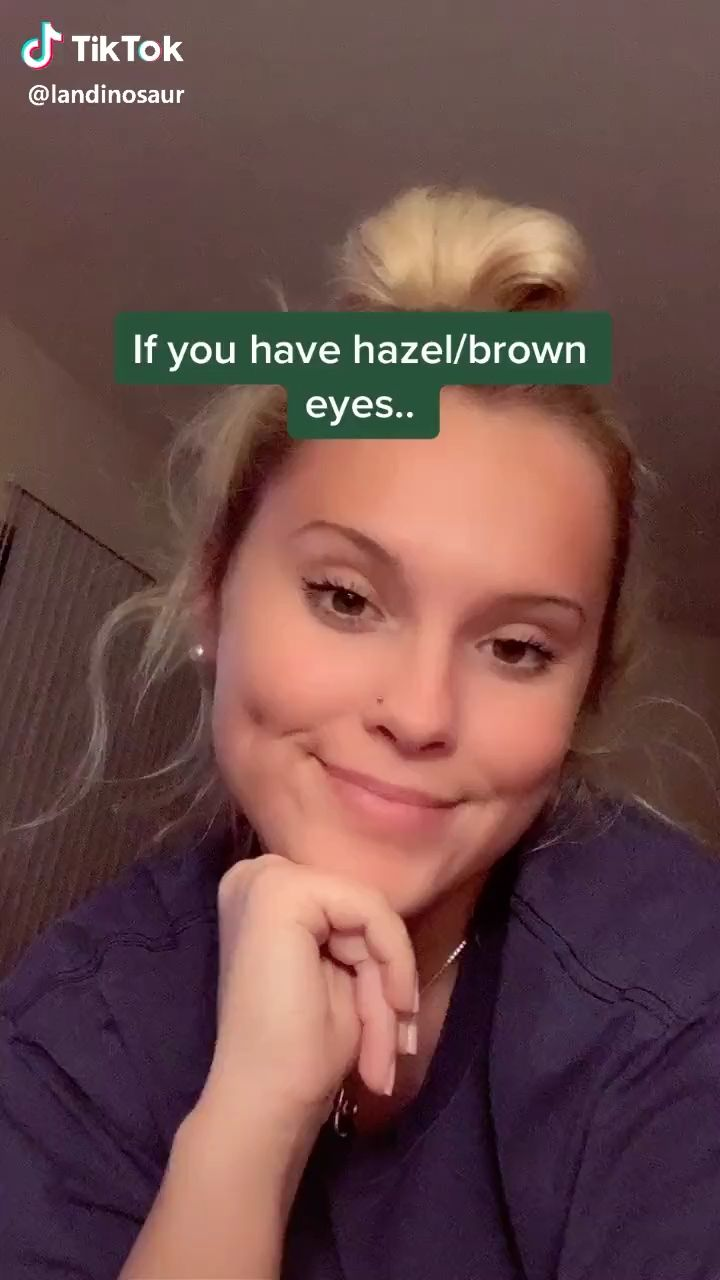 Tikt0k Video Selfie Tips Photo Editing Techniques Hazel Brown Eyes