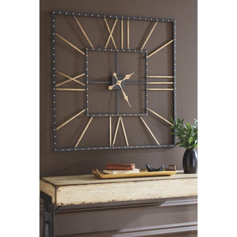 Oversized Sprenger Wall Clock Big Wall Clocks Wall Clocks Living Room Clock Wall Decor