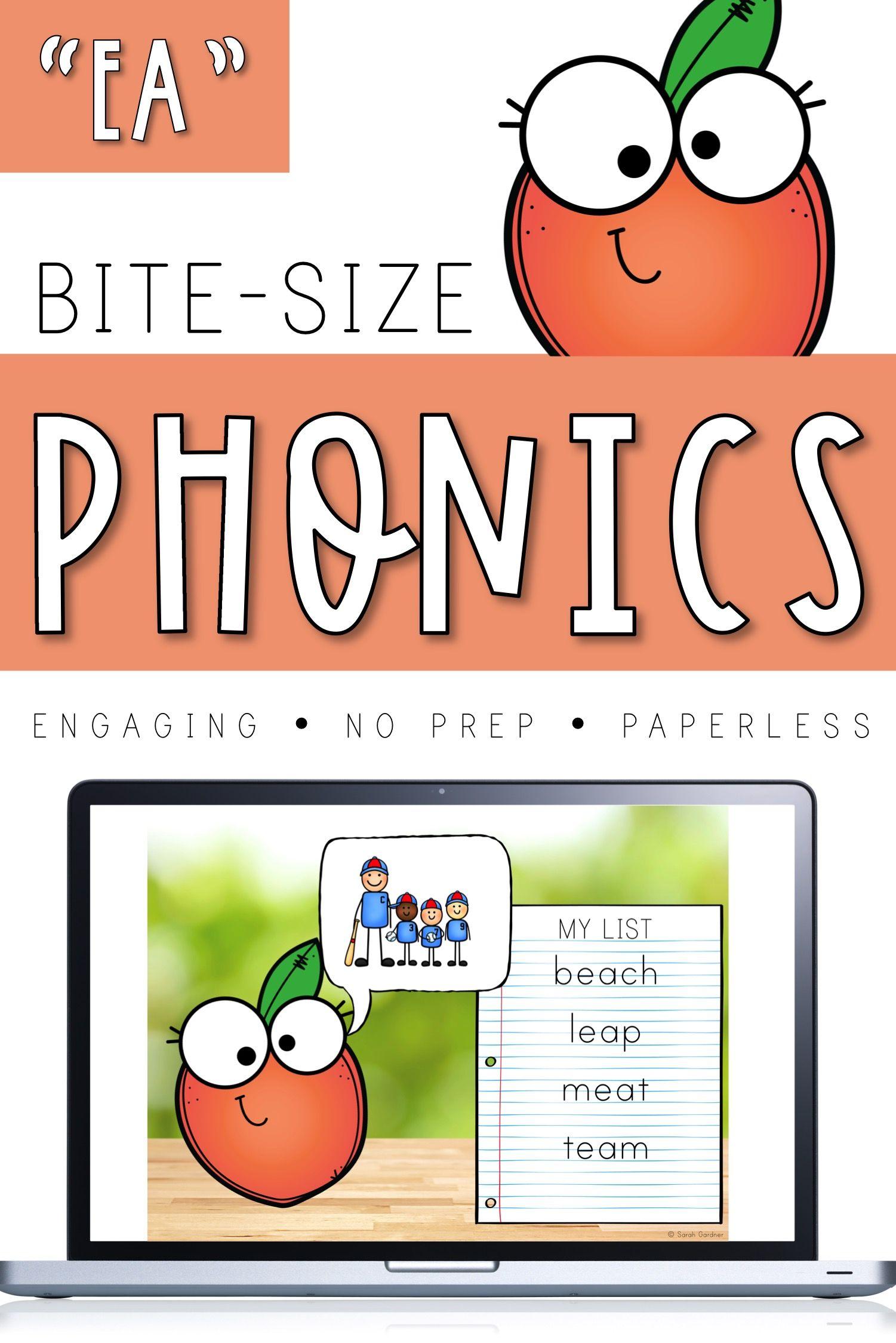 Bite Size Phonics Lessons