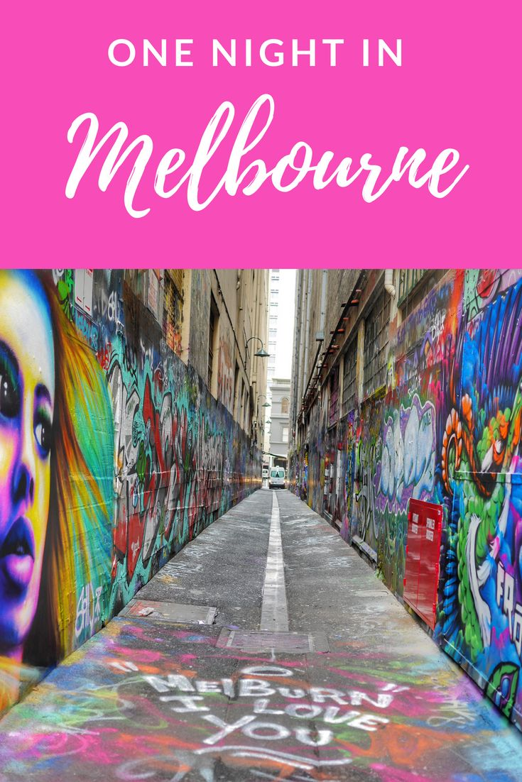 One night in Melbourne is part of One Night In Melbourne  E  A The Sweet Wanderlust - If you've only got one night in Melbourne, you need to make the most of it  The world's most liveable city has art, culture, comes and cocktails, and this guide will ensure you don't miss anything!