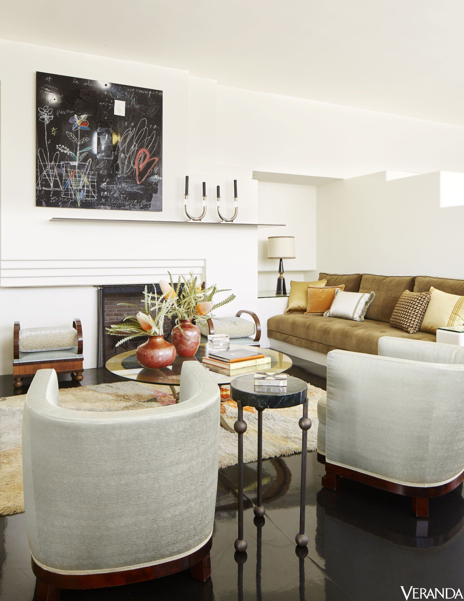HOUSE TOUR: An Art Deco Home That Honors Its Old Hollywood Legacy ...