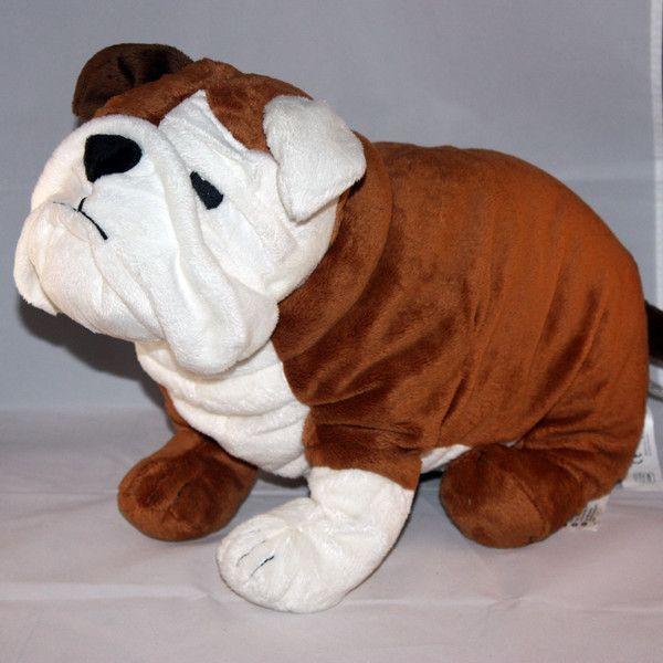 Ikea Gosig Bulldog Dog Stuffed Plush Bulldog Bulldog Dog