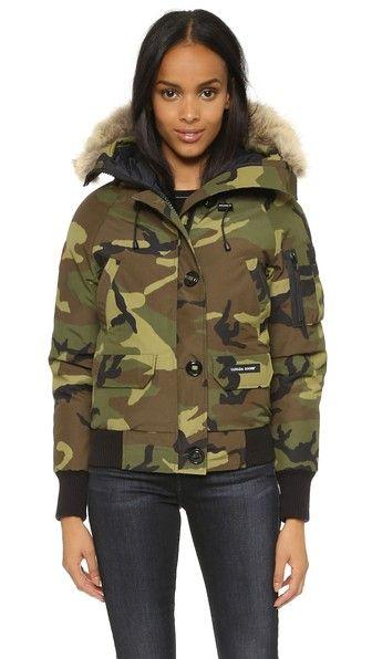 CANADA GOOSE Chilliwack Bomber Jacket. #canadagoose #cloth