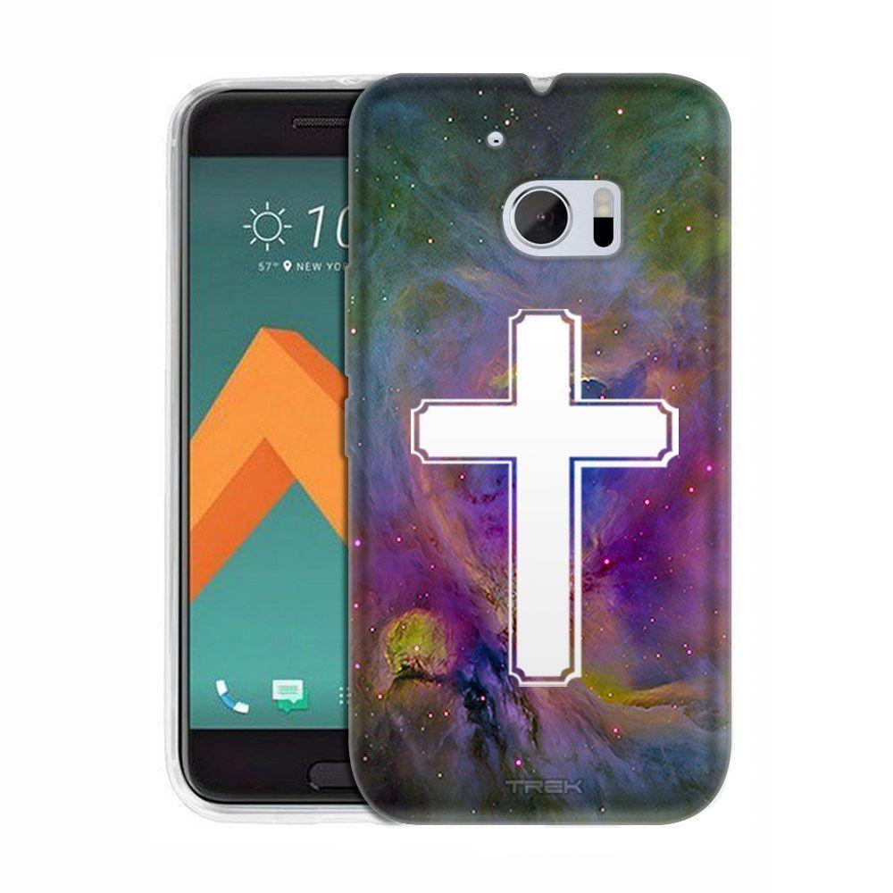 HTC 10 Cross on Nebula Multicolor Slim Case
