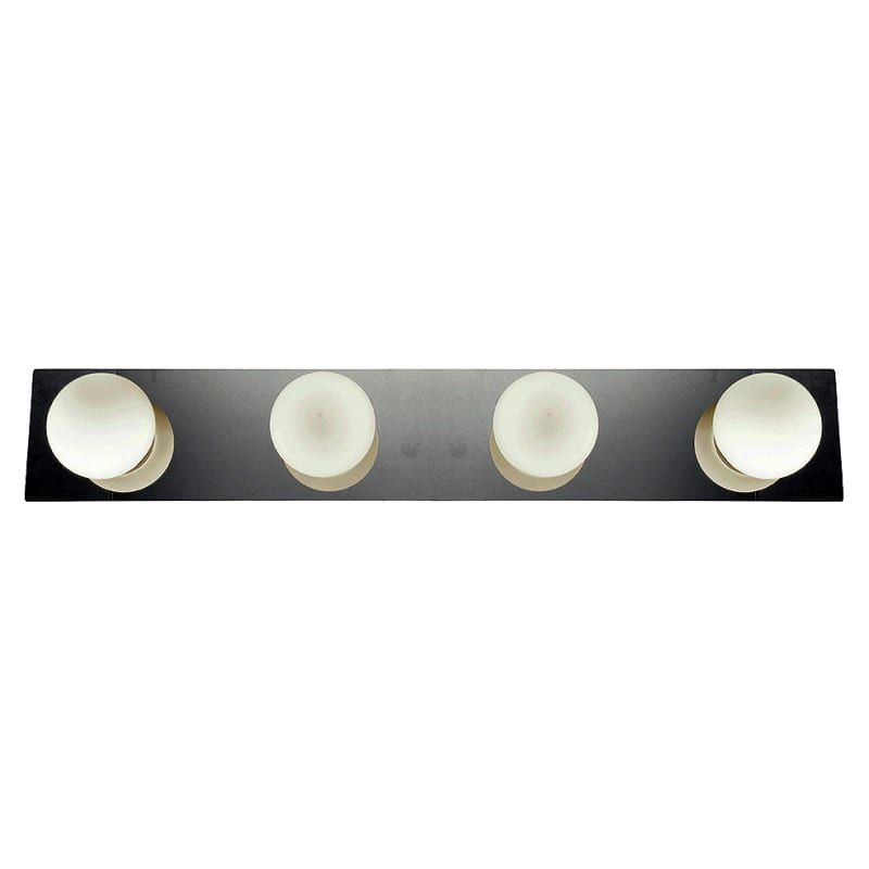 "Access Lighting 62474LEDD/OPL Classic 4 Light LED Bathroom Vanity Strip - 29"" Wi Chrome Indoor Lighting Bathroom Fixtures Vanity Strip"