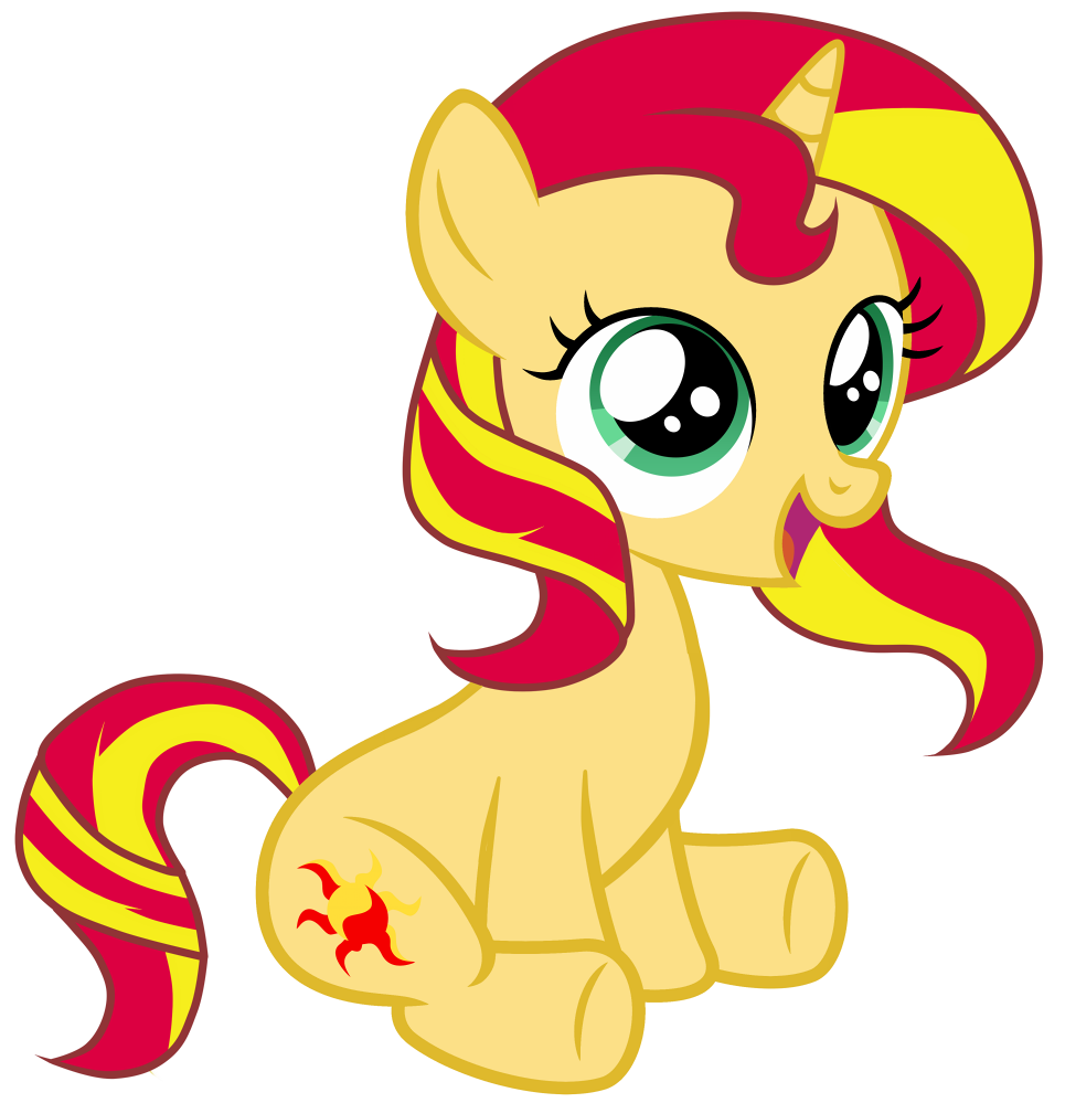 filly sunset by fluttershy 7 deviantart com on deviantart i
